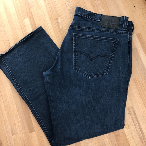 0651aa14 Levi's Jeans | 569 Loose Straight Black Label Waist 36 Jm14 | Poshmark